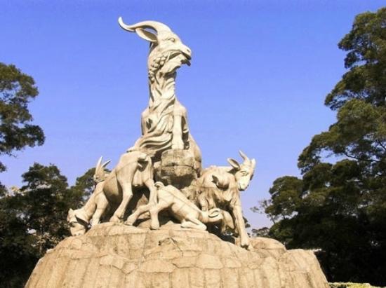 five ram statue picture of yuexiu mountain guangzhou tripadvisor
