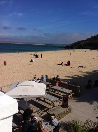 Trevalgan Holiday Farm: Porthmeor Beach, St Ives