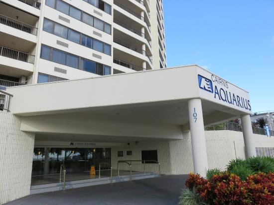 Cairns Aquarius: ホテルの外観