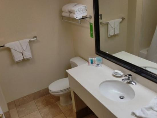 Hampton Inn Philadelphia/Bridgeport: Clean bathroom and linens