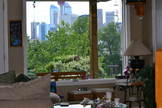 City Centre Riverpath Bed & Breakfast : View from the lounge room window