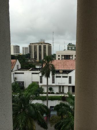 Protea Hotel Victoria Island: Balcony View