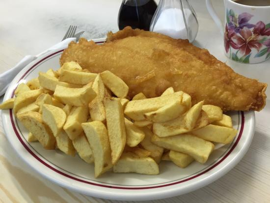 Best fish and chip shop review of godwin fish bar for Best fish and chips nyc