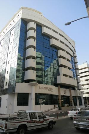 Outsideview lavender hotel deira picture of lavender for Top 100 hotels in dubai