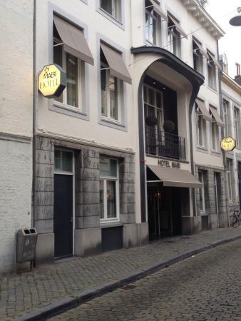 De entree van ons hotel picture of hotel mabi for Designhotel maastricht comfort xl
