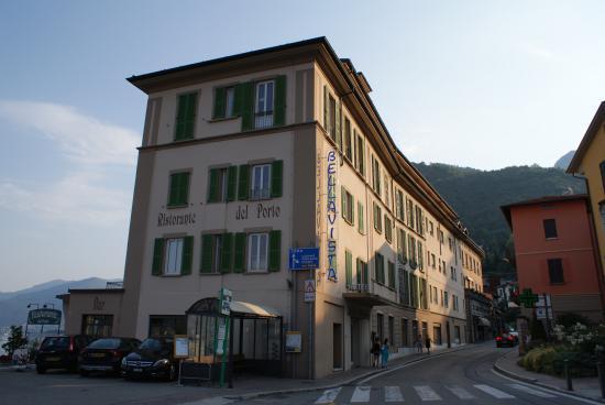 Hotel Bellavista: L'hotel coté rue