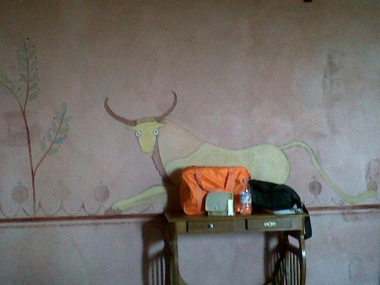 Villa Il Palazzino: habitacion etrusca