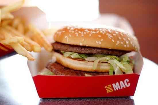McDonald's: sanduichinho