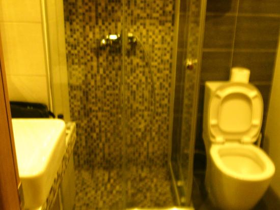 Lydia Hotel: Bathroom was very clean and sanitized.