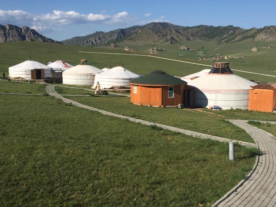 Gorkhi-Terelj National Park: A ger camp