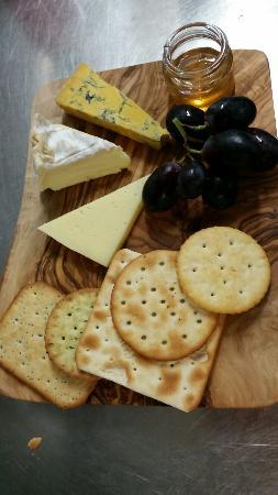 Linnea: Cheese board