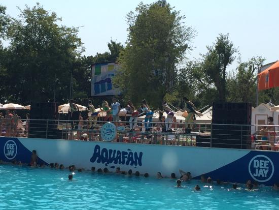 Ριτσιόνε, Ιταλία: This a must visit! This is a pic of one of the bigger pools which has lots of entertainment. Wat