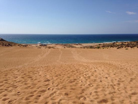 La spiaggia foto di spiaggia di torre dei corsari arbus tripadvisor - Torre specchia spiaggia ...