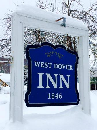 West Dover Inn: When we arrived!