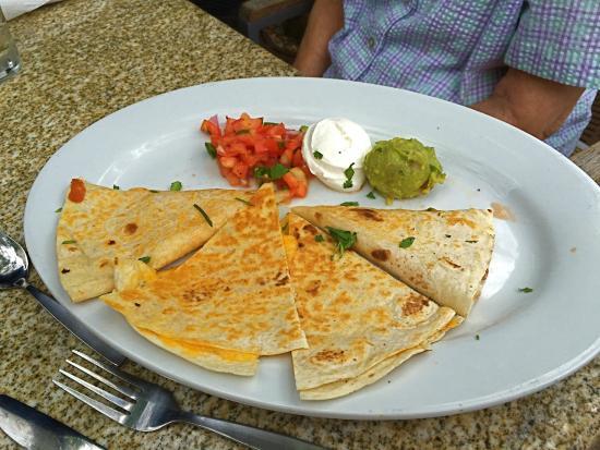 Bar Louie: Cheese Quesadillas