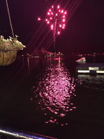 Monticello, IN: Fireworks on Saturday night