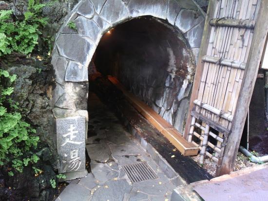 Hashiriyu: 横穴から入ります。