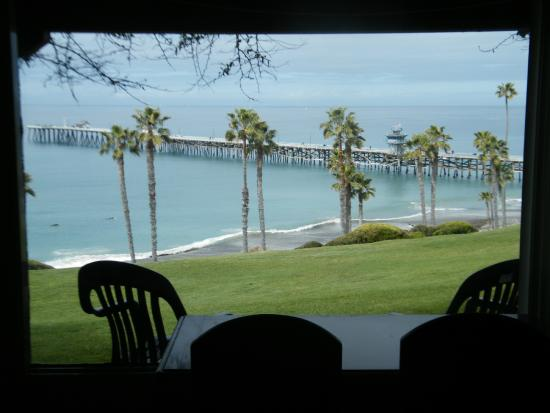San Clemente, CA: From our room in Beachcomber