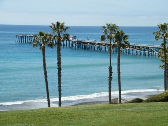 San Clemente, CA: From the grass