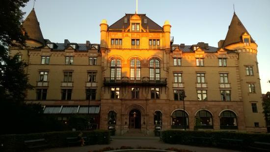 Grand Hotel Lund: Coucher de soleil sur le Grand Hotel