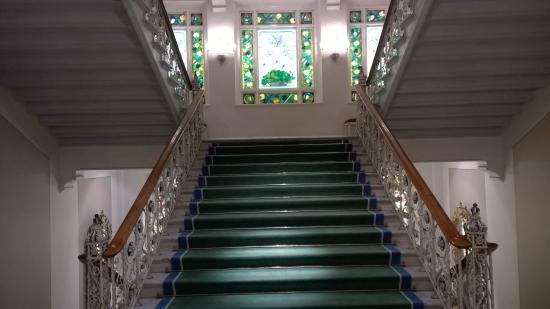 Grand Hotel Lund: Escalier