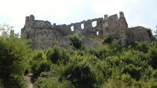 Orahovica, Chorwacja: First glimpse of castle