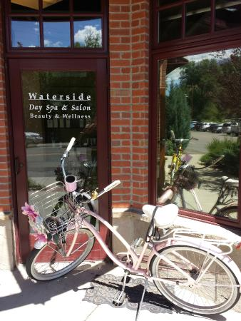 Located In Waterside Village We Love Biking To Work On A Sunny Day