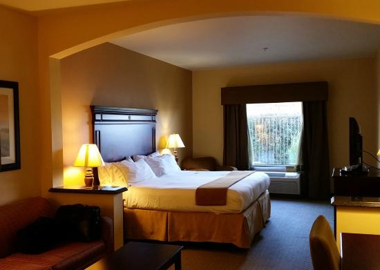 Holiday Inn Express Texarkana: large guest room