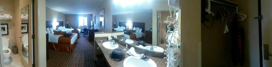 Phoenix Inn Suites South Salem: Great Room!
