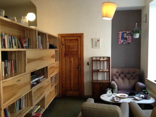 Beautiful, casual living room - Picture of Dad Cafe, Riga ...