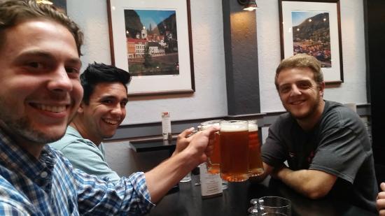 Gustav's German Pub & Grill: Beer Steins for friends