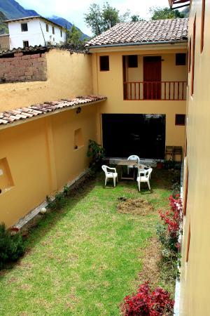 Hotel Casa de Mama Valle: pátio do hotel