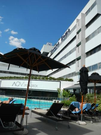 Piscine picture of sheraton roma hotel conference for Rome hotel piscine