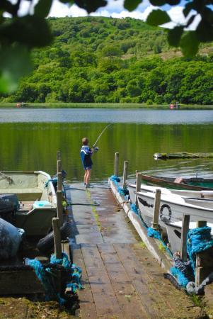 Isle of Bute, UK: fishing !