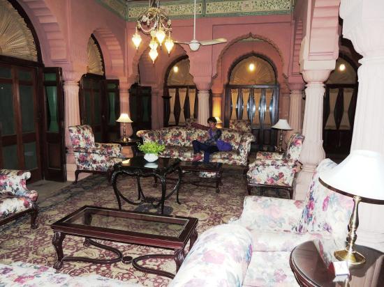 Sala soggiorno: fotografía de Gajner Palace Hotel, Gajner ...