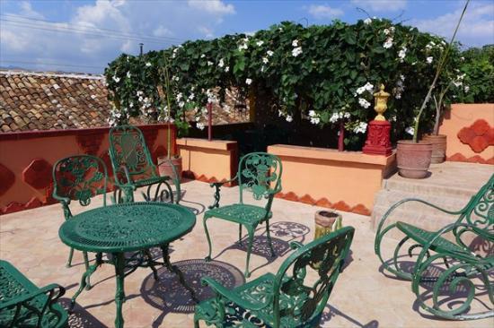 Hostal Amatista: nueva terraza
