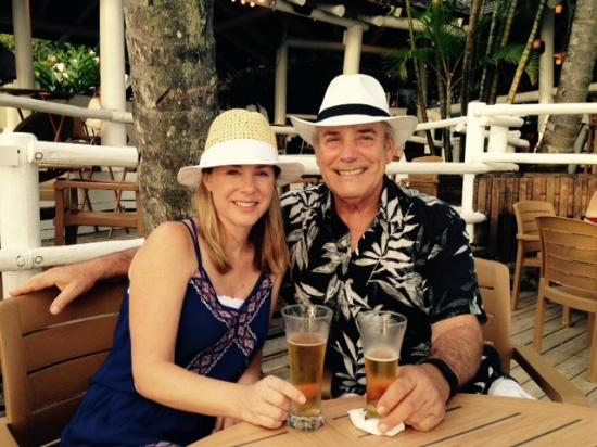 Cap Estate, St. Lucia: Dad and Daughter
