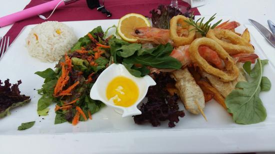 Kappari Restaurant: Karışık balık tabağı ����������