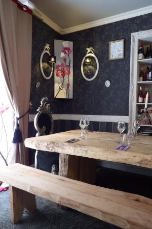 la d coration girly chic photo de o papilles le restaurant avignon tripadvisor. Black Bedroom Furniture Sets. Home Design Ideas