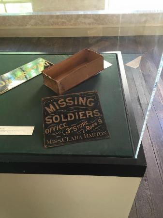 Clara Barton's Missing Soldiers Office Museum