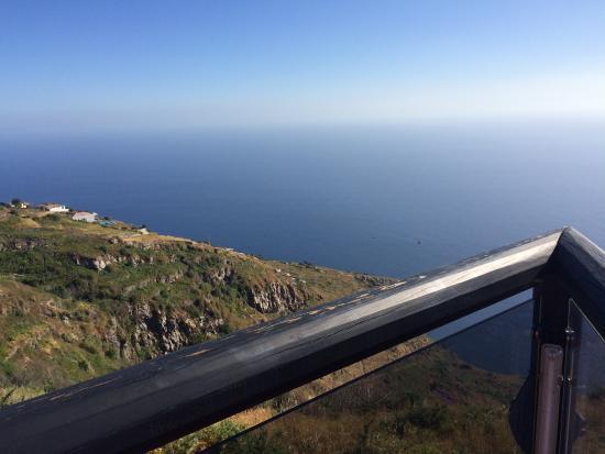 Faja da Ovelha, Portugal: Uitzicht!