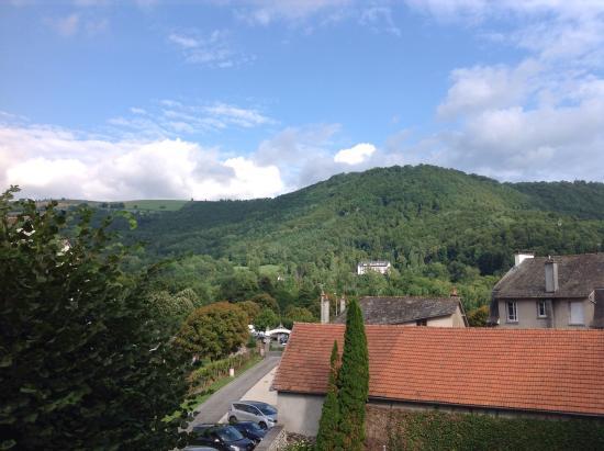 Hotel Beausejour: Vue du balcon.