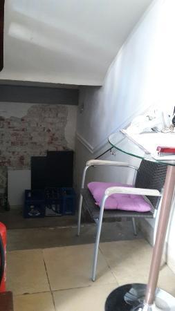Alte Postvilla : Reception, totalmente abbandonata