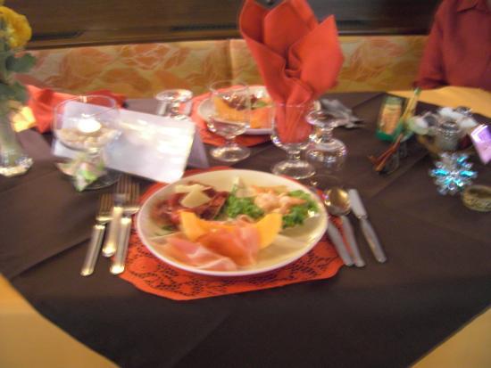 Hotel Micamada: inizio cena