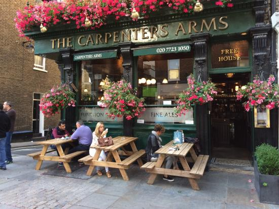 The Carpenter S Arms London 12 Seymour Pl Marylebone