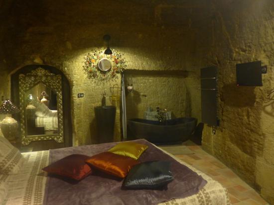 Farfadine & Troglos : Our room