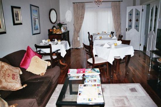 Sli Na Mara: la salle du petit déjeuner