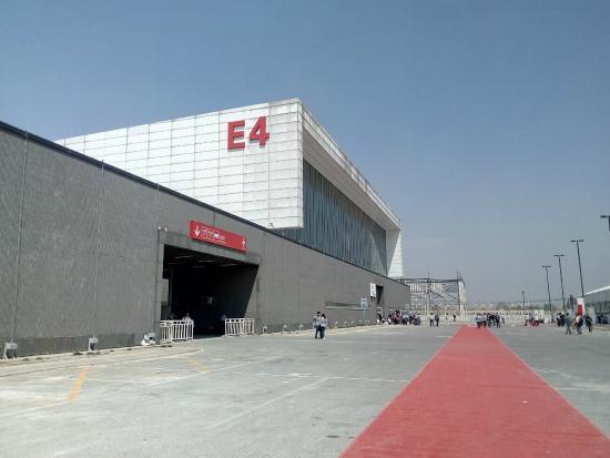 New China International Exhibition Center: exhibition center