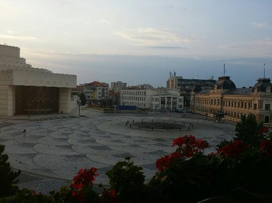 City Hotel Nitra: View from balcony