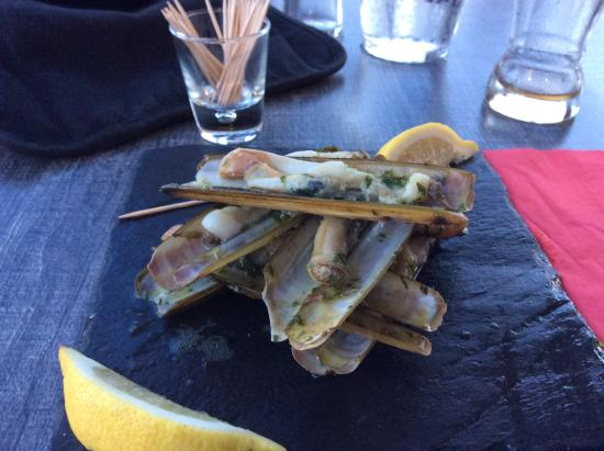 Bacchus des Karantes: Les couteaux service sur assiette